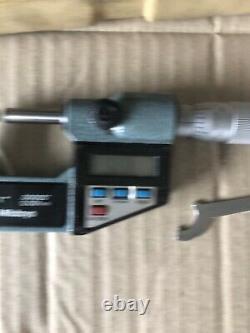 MITUTOYO Digital External Micrometer 0 1 Range (0 25mm) No. 293-766-10