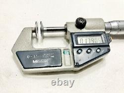 MITUTOYO Digital Flange Micrometer 323-711-30
