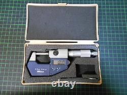 MITUTOYO Digital Micrometer / 0 25 mm / 0,001 mm/ Zustand 2 3