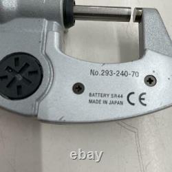 MITUTOYO Digital Micrometer 293-240-70 used