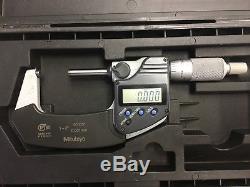 MITUTOYO Digital Micrometer 293-341 MDC-2PJ