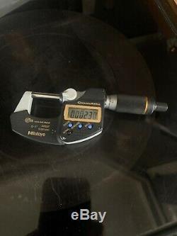 MITUTOYO Digital Micrometer QuantuMike MDE25MX (293-140-30) Range 0-25mm New