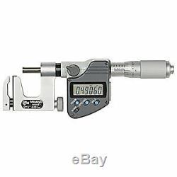 MITUTOYO Digital Micrometer, Uni-Mike, 1 In, SPC, 317-351-30