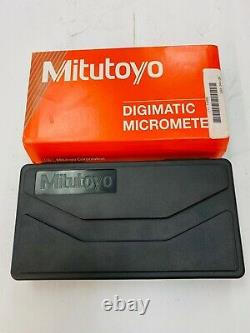 MITUTOYO IP65 Digital Outside Micrometer Range 0 in to 1 in, coolant proof