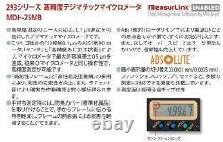 MITUTOYO MDH-25MB 293-100-10 High Precision Digimatic Micrometer 0-25mm Japan