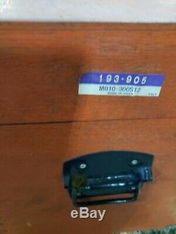 MITUTOYO METRIC DIGITAL MICROMETER WithSTANDARDS 6PC SET 150MM-300MM