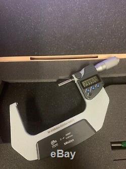 MITUTOYO OUTSIDE ELECTRONIC MICROMETER 3-4 IP65 293-347 Digital Digimatic