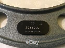 MITUTOYO Rolling Digital Outside Micrometer, 5-6 Range. 0001 Grad