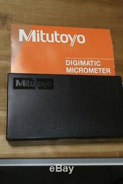 MItutoyo QuantuMike Quickmike Coolant Proof Digital Outside Micrometer 1-2.2