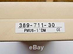 Mint Mitutoyo 0-1 Digital Sheetmetal 6 Yoke Micrometer With Case 389-711-30