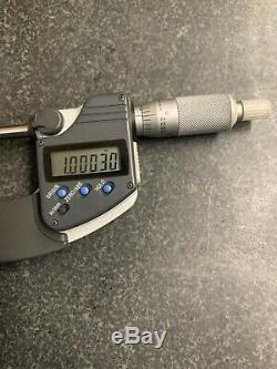 Mint Mitutoyo 1-2 293-331 Digimatic Micrometer Digital Ip65 Coolant. 00005