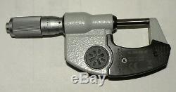 Mituotyo Digital Micrometer 0-1 Inch, Model 293-335-30, Spc Output, Ip65
