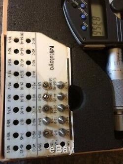 Mitutouyo 0-25 MM / 0-1 Digital Screw Thread Micrometer 326-351 IP65