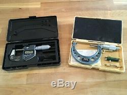 Mitutoyo 0-11 Digital Outside Micrometer (Set Of 10)