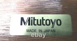 Mitutoyo 0-12 Or 0-300mm Digital Depth Micrometer Set No329-351-10