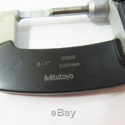 Mitutoyo 0-1.00005 Digital Blade Micrometer No. 422-360
