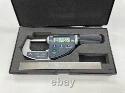 Mitutoyo 0-1.2 0.00005 Absolute QuickMike Digital Micrometer Japan 293-676