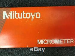 Mitutoyo 0-1 Digit Spline Micrometer. 0001 Grad #131-166