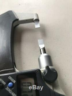 Mitutoyo 0-1 Digital Blade Micrometer No. 422-330.00005