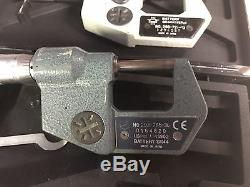Mitutoyo 0-1 Digital Micrometer. 0005 0.001mm 293-765-30 + 293-721-10