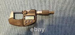 Mitutoyo 0-1 Digital Micrometer 293-330 Coolant Proof IP65