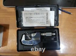 Mitutoyo 0-1 Digital Micrometer 293-831-30 NEW Digimatic 0-25.4mm