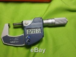 Mitutoyo 0-1 Digital Micrometer 293-832-30