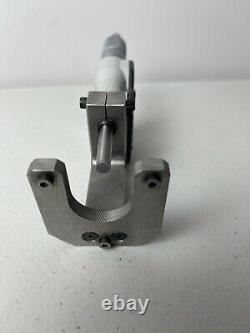 Mitutoyo 0-1 Digital Micrometer Head 0.00005 PLUS CUSTOM BASE 350-351-10