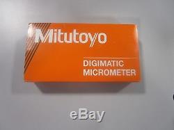 Mitutoyo 0-1 digital micrometer