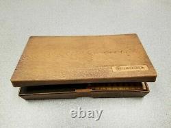 Mitutoyo 0-25mm Metric Digit Thread Pitch Micrometer 226-125 locking ratcheting