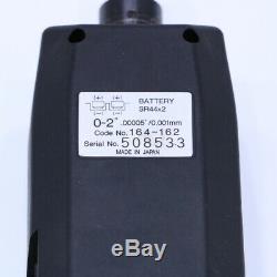 Mitutoyo 0-2 164-162 Flat Digital Micrometer Head Gauge