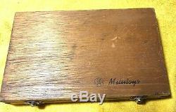 Mitutoyo 0-4 Digital Depth Micrometer, No. 229-127, Interchangeable Rod Type