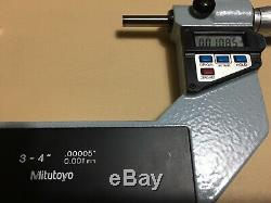 Mitutoyo 0-4 Digital Micrometer Set