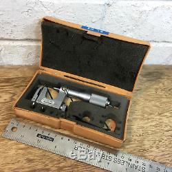 Mitutoyo 117-107 0-1 Multi Anvil Micrometre Outside Ticknes Range