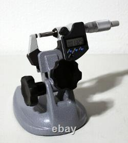 Mitutoyo 156-101-10 Micrometer Stand with 293-340-30 IP65 Digimatic Micrometer