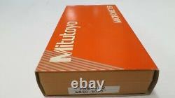Mitutoyo 159-102 Combimike Micrometer 1-2/25-50mm. Carbide Faces. Lock, Ratchet