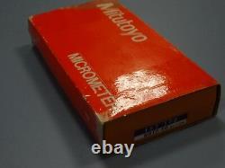 Mitutoyo 193-102 Digit Outside Micrometer, 25-50 mm (METRIC)