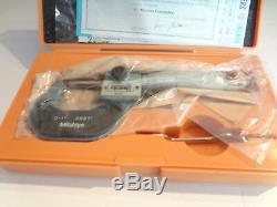 Mitutoyo 193-211 0-1 Digit Outside Micrometer