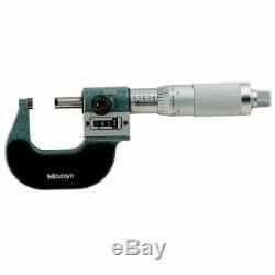 Mitutoyo 193-211 0-1'' Mechanical Digital Outside Micrometer