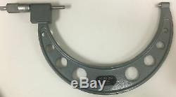 Mitutoyo 193-219 Rolling Digital Outside Micrometer, 8-9 Range. 0001