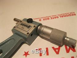 Mitutoyo 193-222 Digit Micrometer 11-12 Carbide. 0001 No Engravings