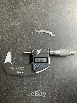 Mitutoyo 1-2 293-331 Digimatic Micrometer Digital Ip65 Coolant. 00005 Machinist