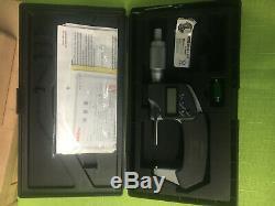 Mitutoyo 1-2 Digital Micrometer