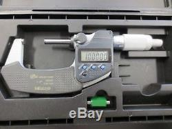 Mitutoyo 1-2 Digital Micrometer 293-345-30 Great Condition