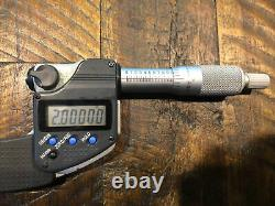 Mitutoyo 1-2 Digital Micrometer IP65 293-331-30