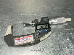 Mitutoyo 1 2 Digital Outside Micrometer 293-331