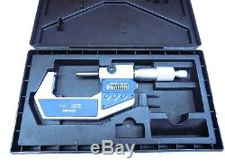 Mitutoyo 1 2 Electronic Micrometer with Carbide Tips 793-722-30