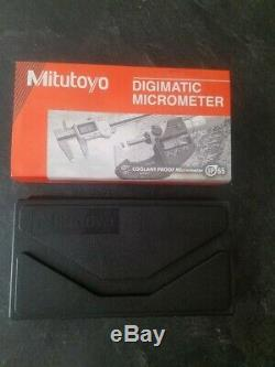 Mitutoyo 1-2 Quantumike Ip65 Digital Micrometer (never)