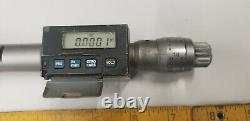 Mitutoyo 1.4 1.6 Digital Internal Bore Gage Micrometer Etchings withNew Battery