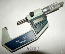 Mitutoyo 1 to 2 Digital Micrometer MDC-2 M 293-722-30
